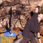 sesiones de yoga grupales