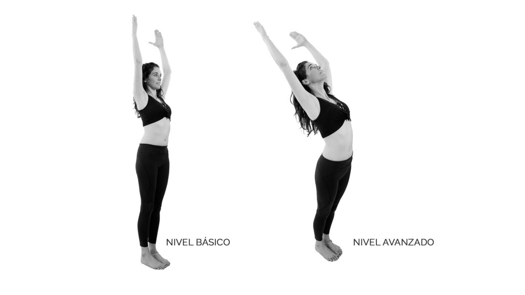 Hasta uttanasana o Postura de brazos abiertos - Asana - Tu relación con la comida habla de ti - Sumati